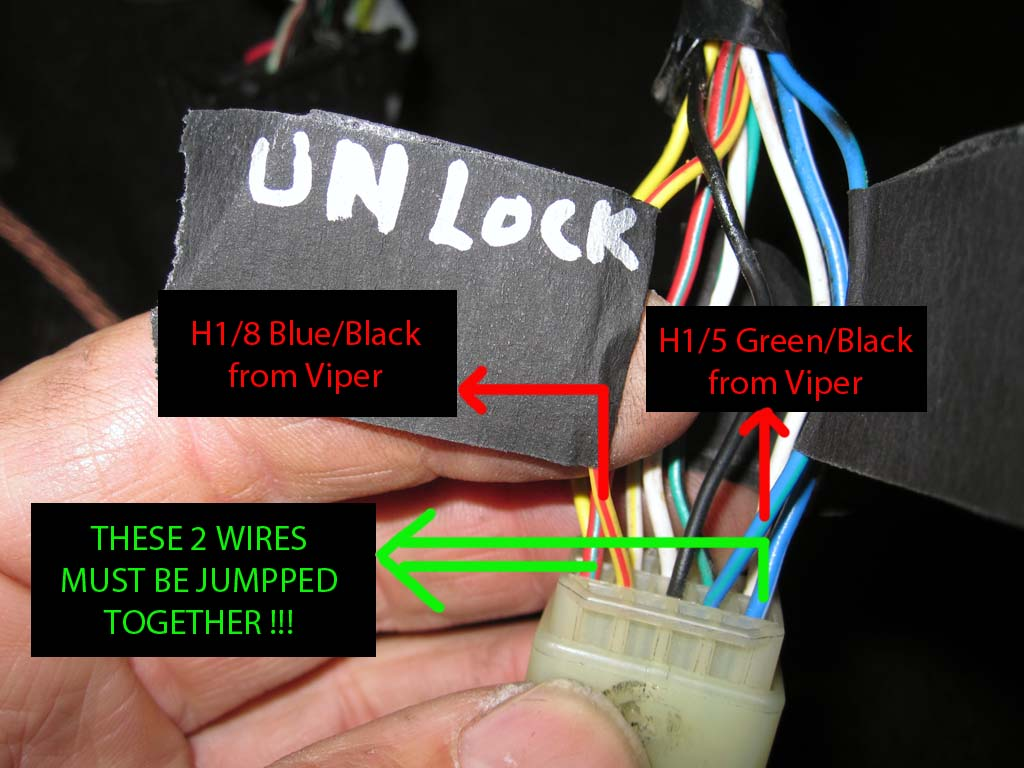 Lock Wires on Viper Car Alarm Wiring Diagram